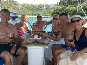 Sunburst Sailing pic - please add to the Food from the Galley page - along with canapés, risotto & tart