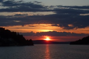 Brac sunset