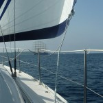 Sailing around the islands of the Adriatic Sea