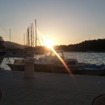 Stari Grad sunset, Hvar, Croatia